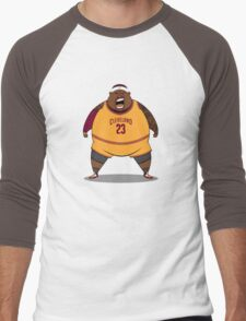 FATTTY Bron Men's Baseball ¾ T-Shirt