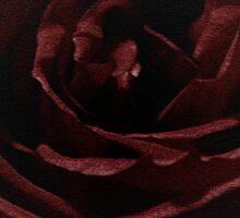Textured Red Rose Sticker