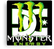 Monster Energy Drink DC Shoes Team Canvas Print