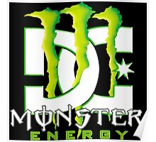 Monster Energy Drink DC Shoes Team Poster