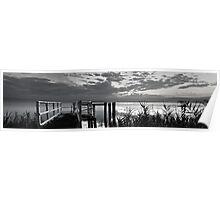 Lake Illawarra BW Poster