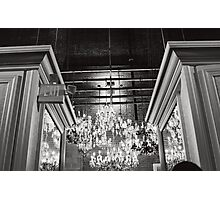 Chandeliers  Photographic Print