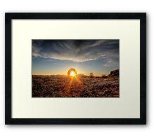 Hook Up Framed Print