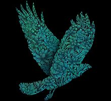 Blue bird by Fil Gouvea