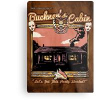 Buckner's Cabin Metal Print