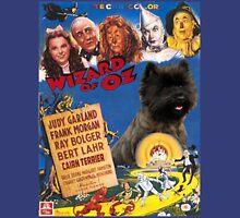 Cairn Terrier Art - The Wizard of Oz Movie Poster Unisex T-Shirt