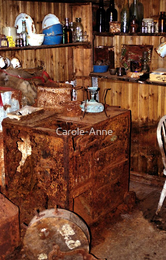 Explorer's Hut Interior #1 by Carole-Anne