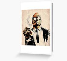 Cigar smoker Greeting Card