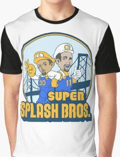 Super Splash Bros  Graphic T-Shirt