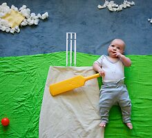 The Cricket Player by tiani