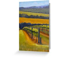 Vineyard Mornington Peninsula Greeting Card