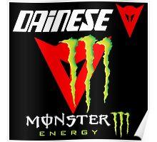 Dainese Monster Energy Team Poster
