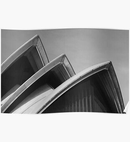 Sydney Opera House Sails Poster