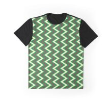 Seamless Chevron Pattern Graphic T-Shirt