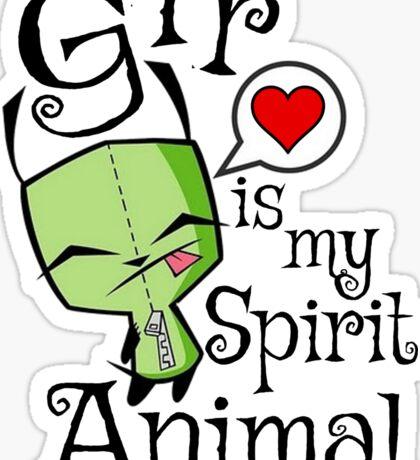 Gir is my Spirit Animal Sticker