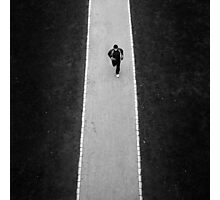 The Marathon Man Photographic Print