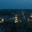Early evening over Lviv by Oleksiy Rybakov