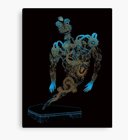 Tattoo Ghost's Ink Memories Canvas Print