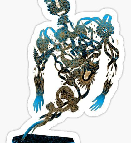 Tattoo Ghost's Ink Memories Sticker