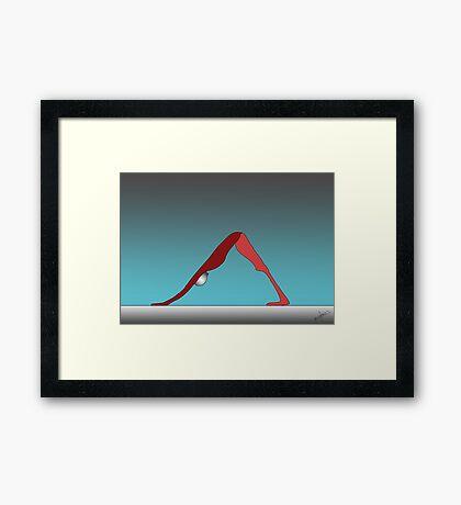 Earthed Framed Print