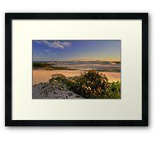 Dune Field Framed Print