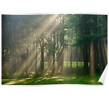 Heavenly Sunrise Landscape Poster
