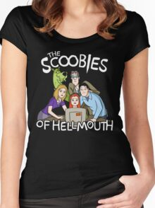The Scoobies Of Hellmouth Women's Fitted Scoop T-Shirt
