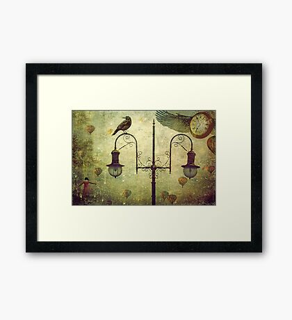Time Flies When Your having Fun Framed Print