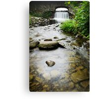 Small Waterfall Landscape Canvas Print