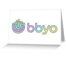 BBYO  Greeting Card