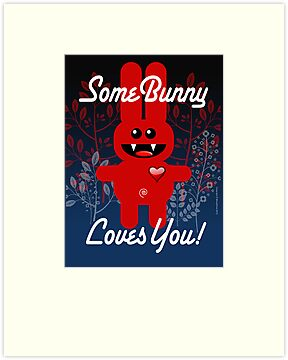 SOME BUNNY LOVES YOU! by peter chebatte