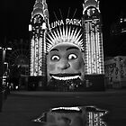 Luna Park, Sydney Australia by Justine Chesterman