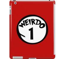 Weirdo 1 iPad Case/Skin