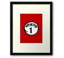 Weirdo 1 Framed Print