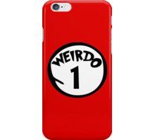 Weirdo 1 iPhone Case/Skin