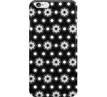The pattern in circles and flowers iPhone Case/Skin