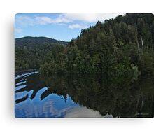 Reflections Gordon River, Tasmania Canvas Print