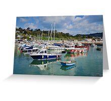 April Morning ~ Lyme Regis Greeting Card