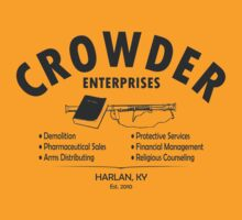 Crowder Enterprises (Black) by pixhunter