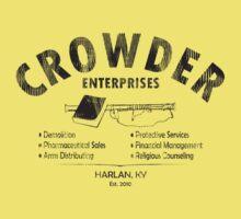 Crowder Enterprises (Black Distressed) by pixhunter