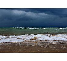 Storm Shore Photographic Print