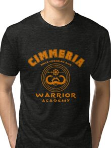 Warrior academy Tri-blend T-Shirt