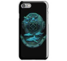 Deep diving iPhone Case/Skin