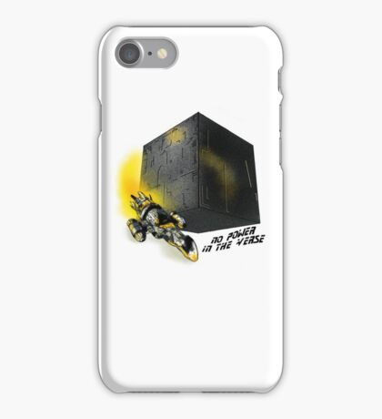 No Power In The 'Verse iPhone Case/Skin