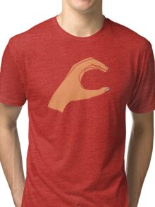 Lowercase C Tri-blend T-Shirt