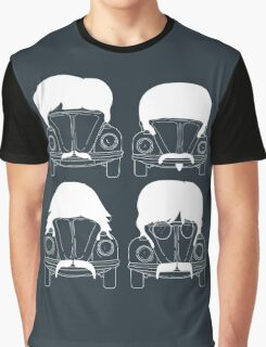 The Beatles - White Graphic T-Shirt