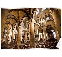 Europe: Paris, Notre Dame Poster