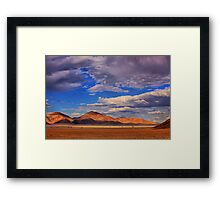 Rolling Clouds Blanket the Sky Framed Print
