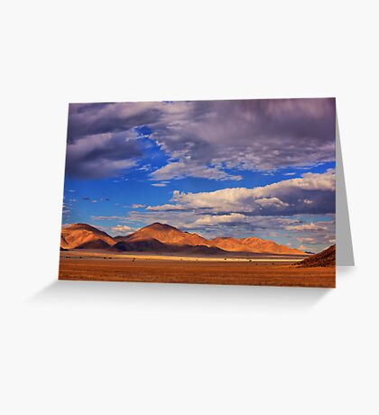 Rolling Clouds Blanket the Sky Greeting Card
