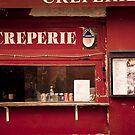 Europe: Paris, Creperie by Scott G Trenorden